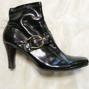 "Etienne Aigner Heeled Boots ""Barley"" - Size 9"